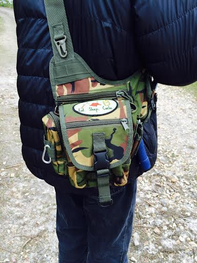 Our Geocaching Bag